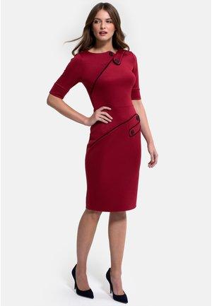 RICHMOND PONTE  - Shift dress - red