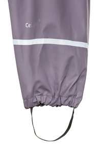 CeLaVi - RAINWEAR SUIT BASIC SET WITH FLEECE LINING - Rain trousers - nivana - 4