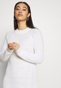Even&Odd - Strikket kjole - white - 3