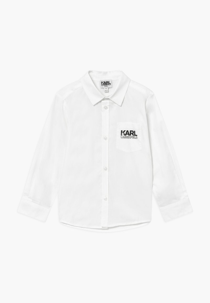 KARL LAGERFELD - LONG SLEEVED - Shirt - white