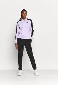 Puma - BASEBALL TRICOT SUIT  - Survêtement - light lavender - 1
