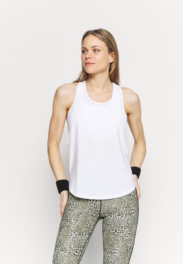 BREATHE MUSCLE LOW ARMHOLE TANK - Top - optic white