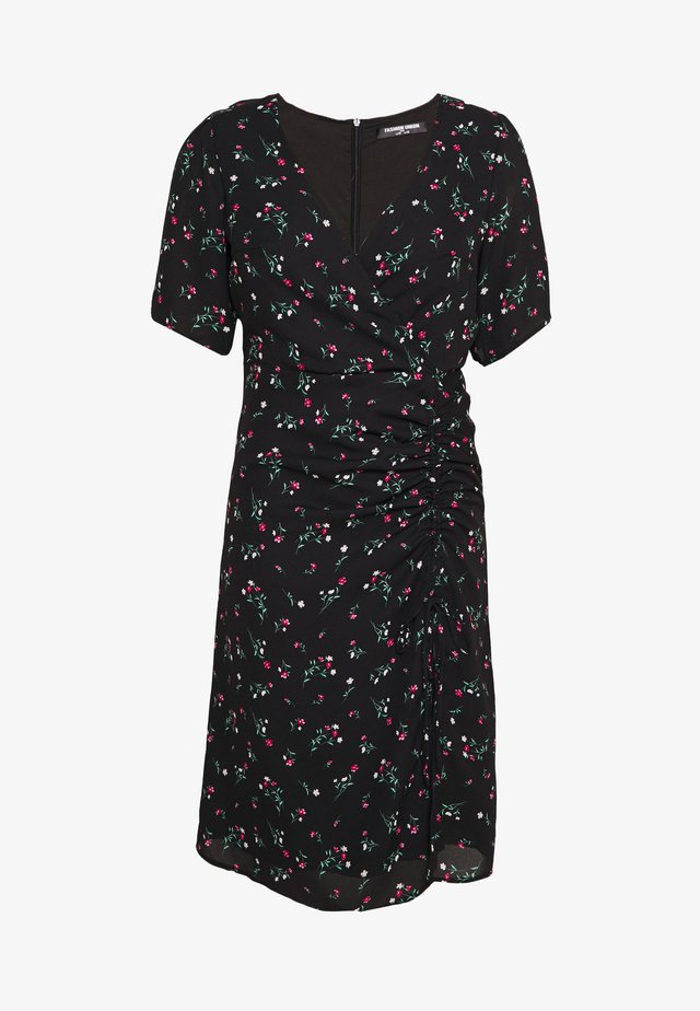 CORA DRESS - Day dress - black