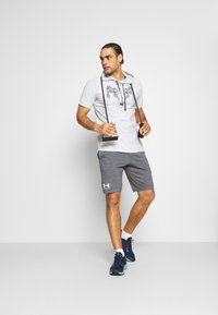 Under Armour - PROJECT ROCK - Print T-shirt - halo gray - 1