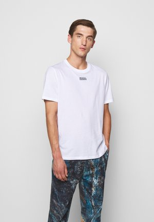 DURNED - T-shirt imprimé - white