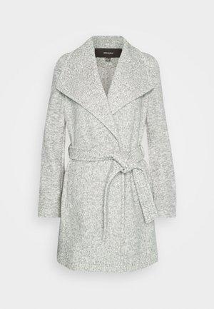 VMBRUSHEDDORA JACKET - Classic coat - light grey melange