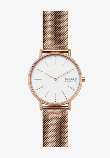 SIGNATUR - Watch - roségold-coloured