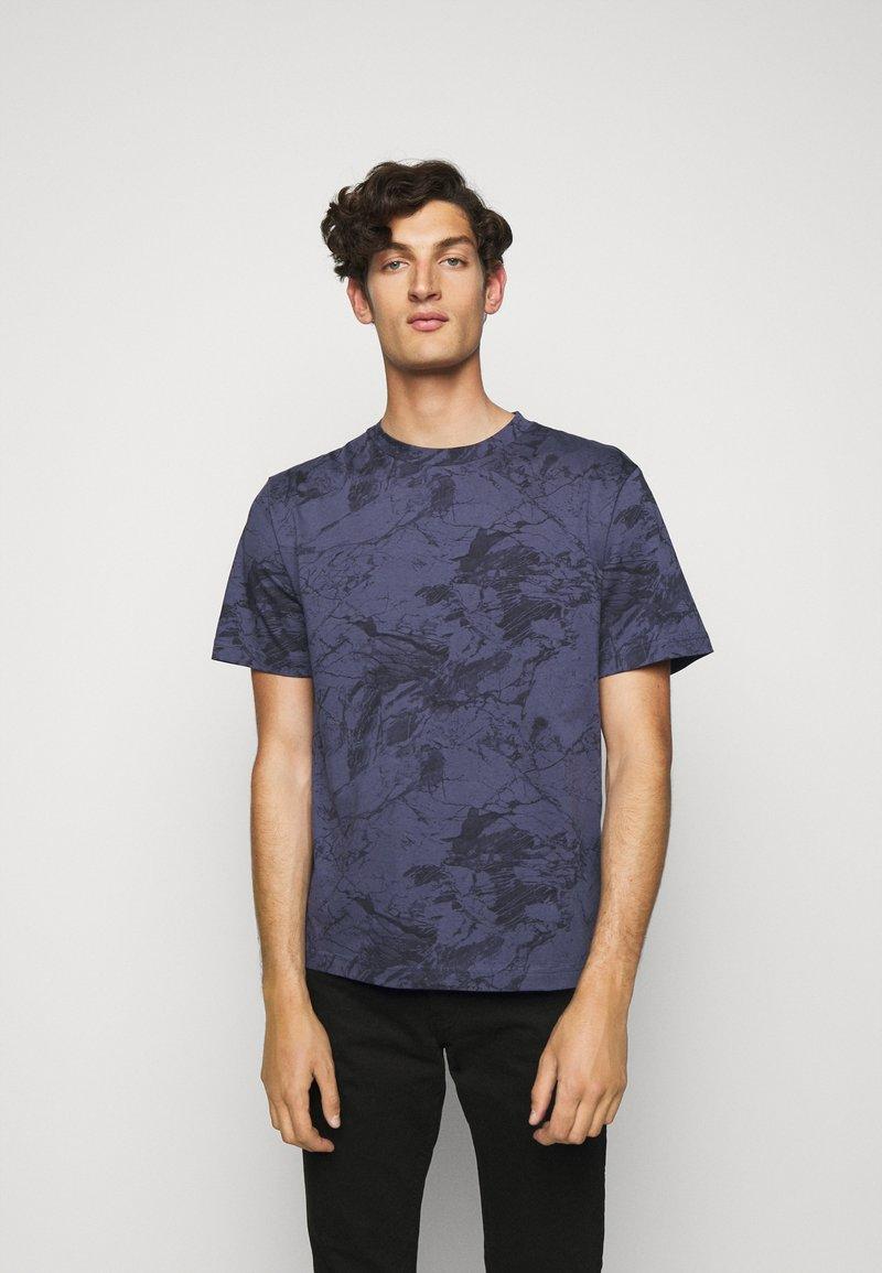 Theory - RACER TEE  - T-shirt imprimé - air force