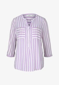 lilac white vertical stripe