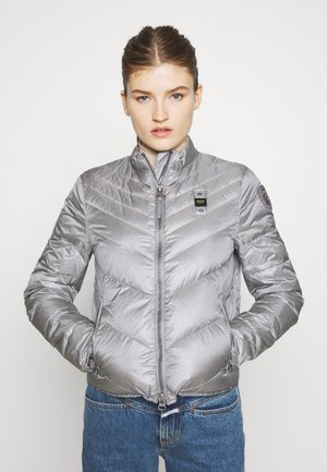 GIUBBINI CORTI IMBOTTITO PIUMA - Down jacket - grigio piccione