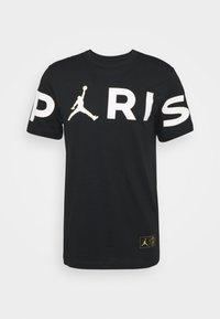 PARIS ST GERMAIN WORDMARK TEE - T-shirt print - black