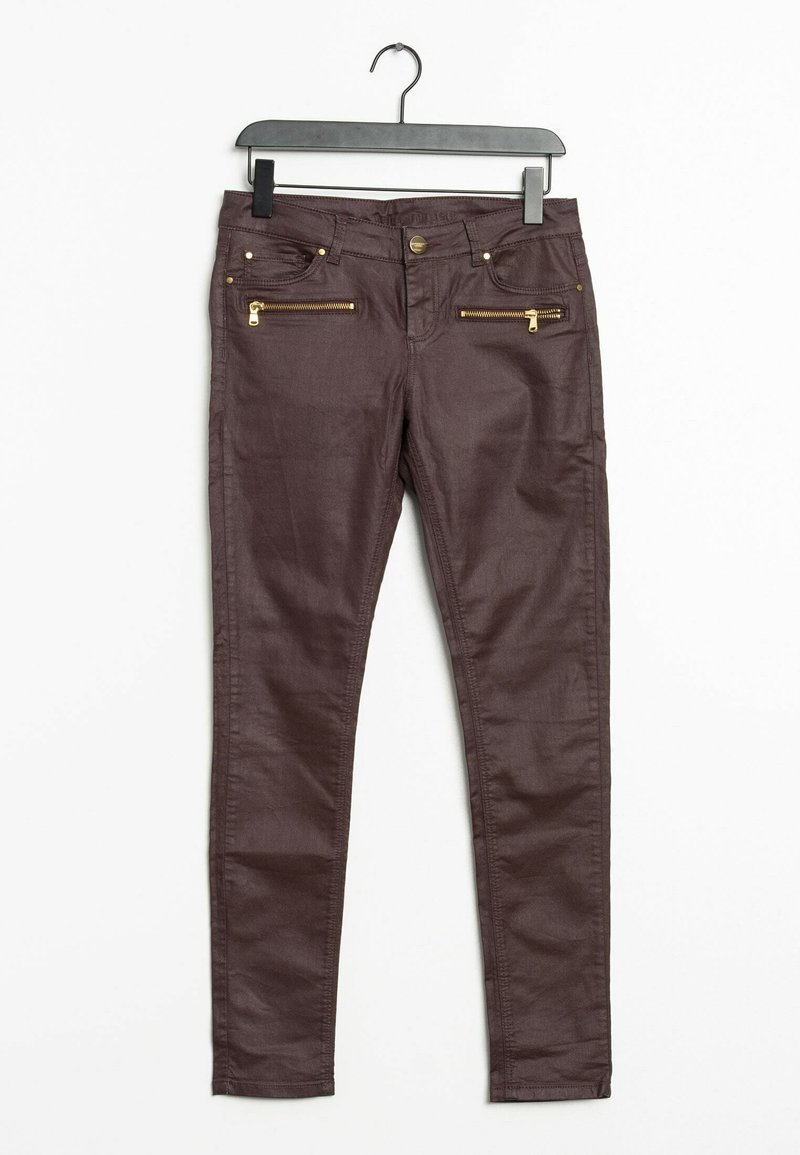 HALLHUBER - Trousers - red