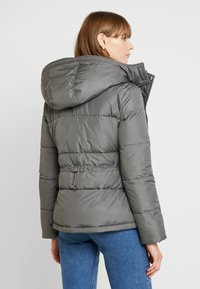 Hollister Co. - ELEVATED CORE PUFFER JACKET - Light jacket - grey - 2