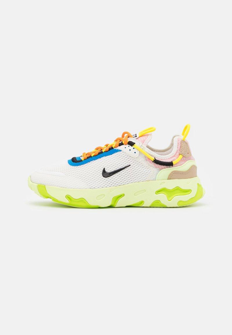 Nike Sportswear - REACT LIVE UNISEX - Trainers - sail/black/barely volt/grain