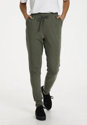 LINDA  - Trousers - grape leaf
