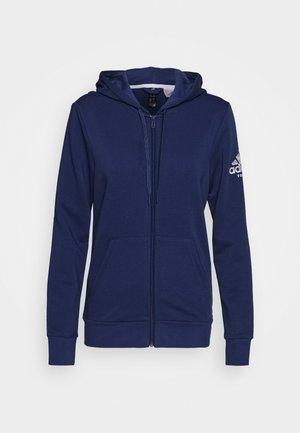 CLUB HOODIE - Mikina na zip - blue