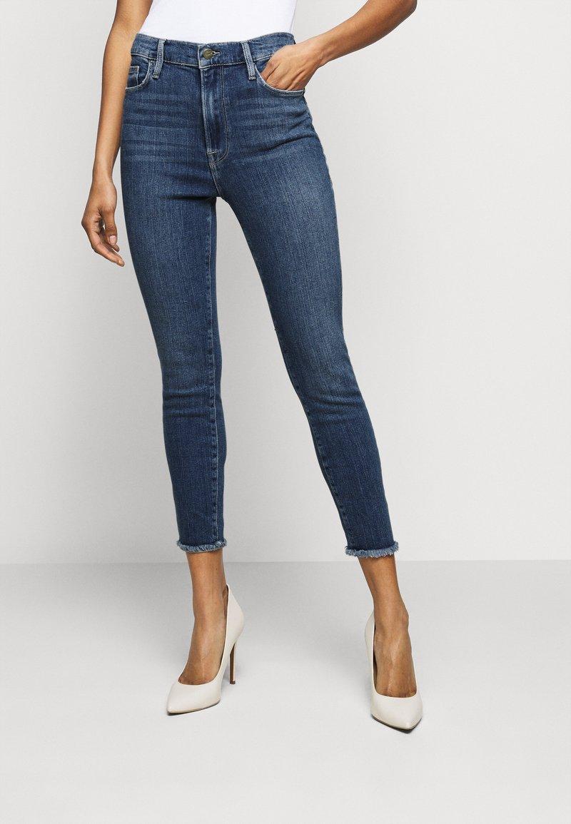 Frame Denim - ALI HIGH RISE TURN BACK HEM - Jeans Skinny Fit - van ness