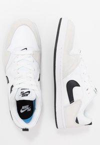 Nike SB - ALLEYOOP UNISEX - Obuwie deskorolkowe - white/black - 1