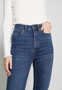 Monki - OKI NEW - Jeansy Skinny Fit - blue medium dusty - 3