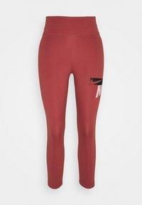 Nike Performance - ONE CROP - Tights - canyon rust/pink glaze/black - 3