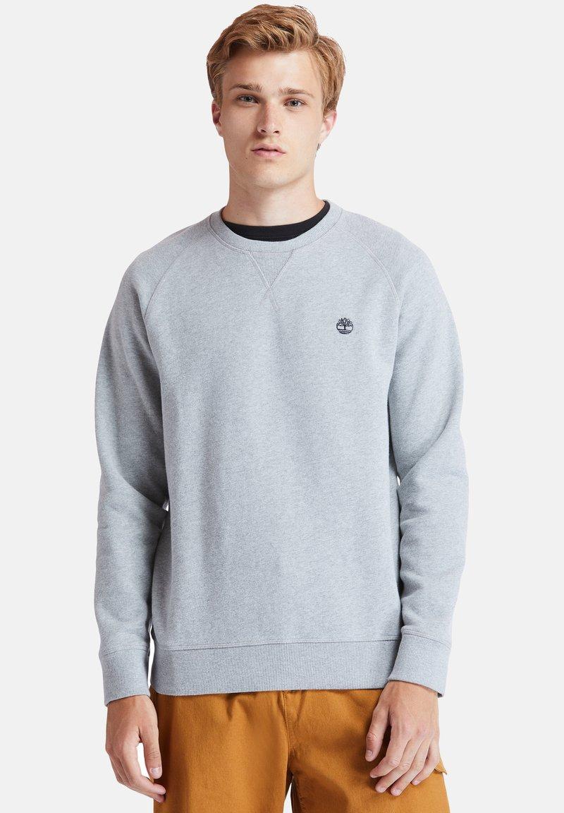 Timberland - EXETER RIVER BRUSHED BACK - Sweatshirt - medium grey heather