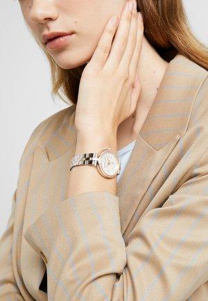 MACI - Hodinky - silver-coloured/rose gold-coloured