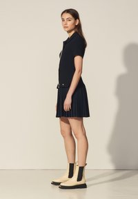 sandro - ALBERTA - Shirt dress - marine - 1