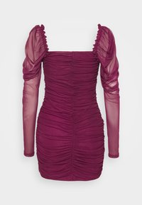 Missguided - LONG SLEEVE DRESS - Cocktail dress / Party dress - plum - 1