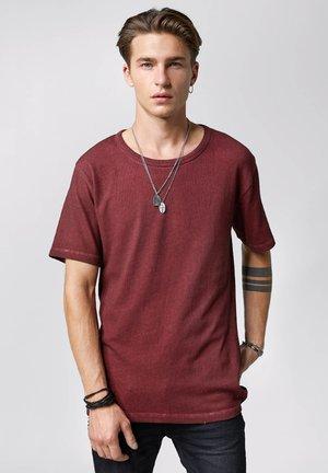 LAFAN - Basic T-shirt - vintage dark red