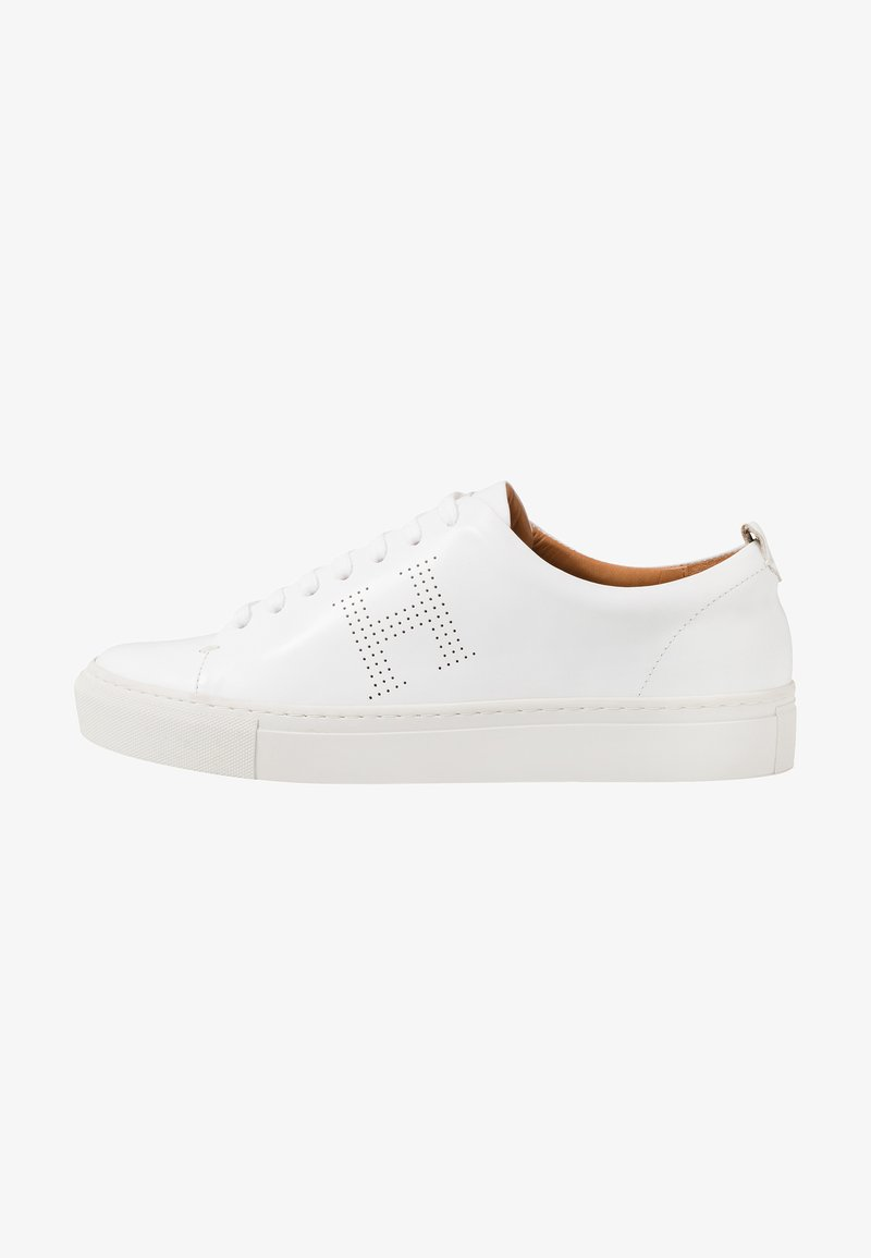 Hackett London - PERFORATED CUPSOLE - Sneakers laag - white