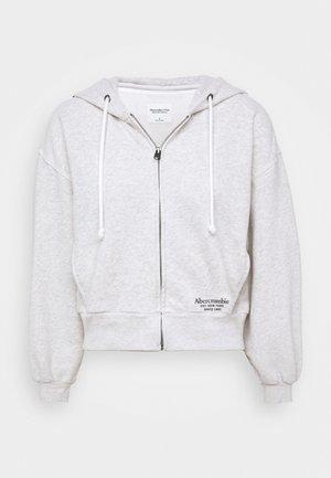 TREND LOGO - Mikina na zip - heather grey