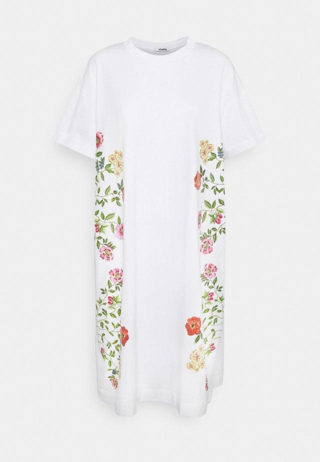 DRESS - Robe en jersey - bianco ottico