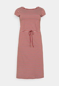 ONLY Carmakoma - CARAPRIL LIFE STRING DRESS - Jersey dress - apple butter/cloud - 0