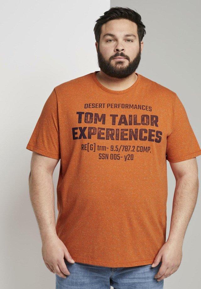 T-shirt imprimé - orange grindle stripe
