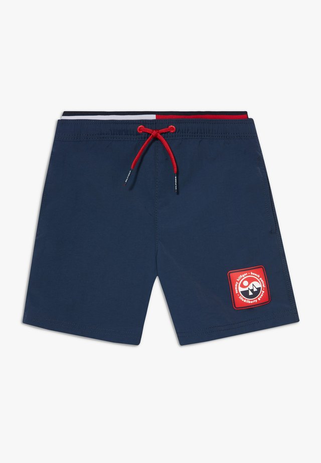 MEDIUM DRAWSTRING - Swimming shorts - blue