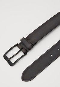 Zign - UNISEX LEATHER - Belte - dark grey - 1