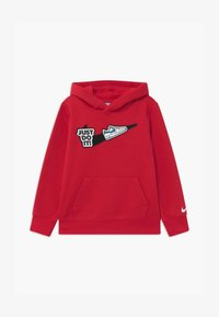 Nike Sportswear - HOOK LOOP TAPE  - Kapuzenpullover - university red/black - 0