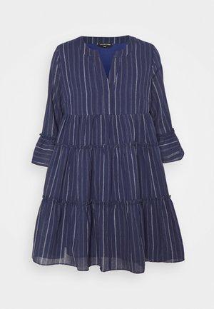 INDY BOHO DRESS - Day dress - blue
