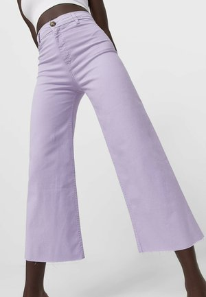 Flared Jeans - purple