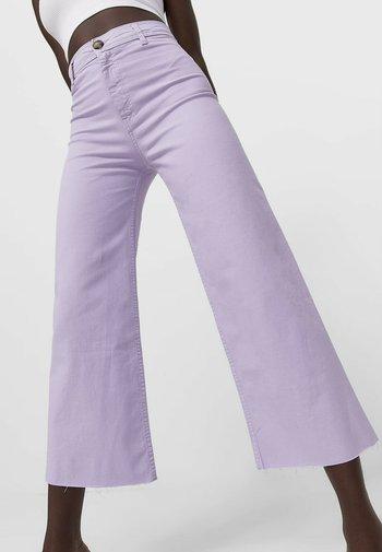 Flared Jeans - purple