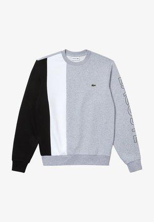 SH0169  - Sweater - gris chine / blanc / noir
