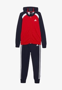 adidas Performance - HOODIE TRAINING SPORTS TRACKSUIT - Dres - scarlet/legend ink/white - 3