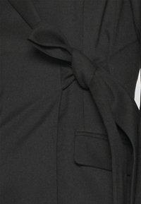 Monki - KAREN DRESS - Etuikjole - black - 5