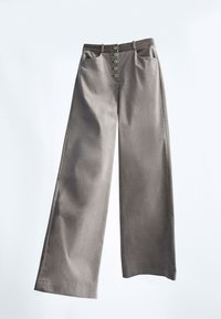 Massimo Dutti - MIT KNÖPFEN  - Trousers - grey - 2