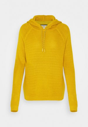 HOOD - Sweat à capuche - brass yellow