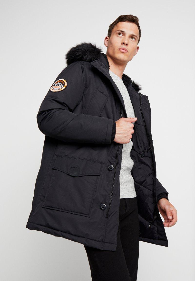 Superdry - EVEREST  - Zimní kabát - jet black