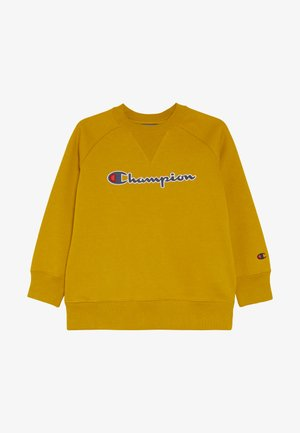 ROCHESTER LOGO CREWNECK - Bluza - mustard yellow
