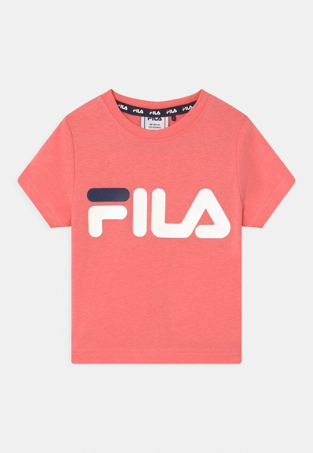 LEA CLASSIC LOGO UNISEX - T-shirt con stampa - conch shell