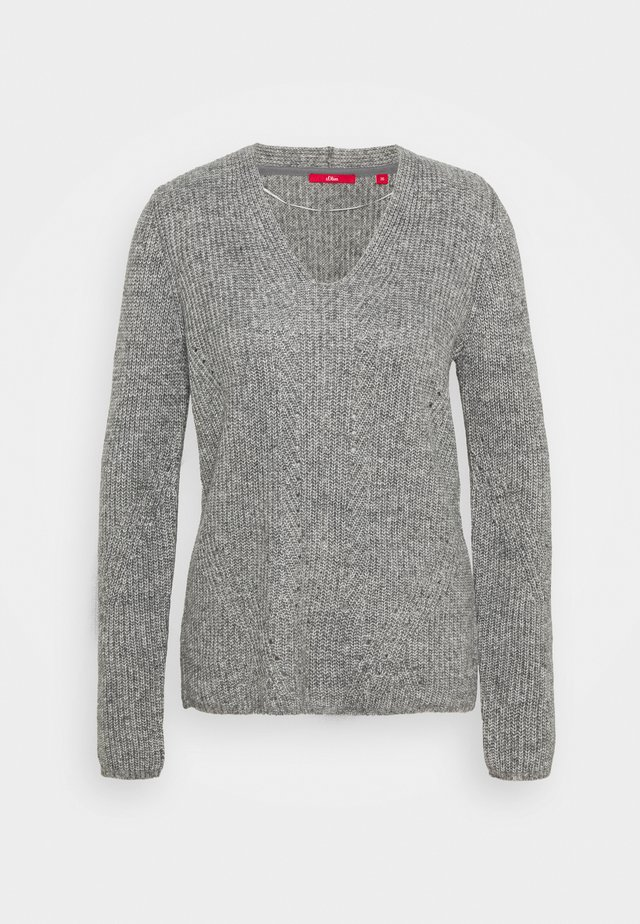 Jumper - grey knit