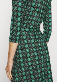 King Louie - HAILEY DRESS ABERDEEN - Day dress - fir green - 4